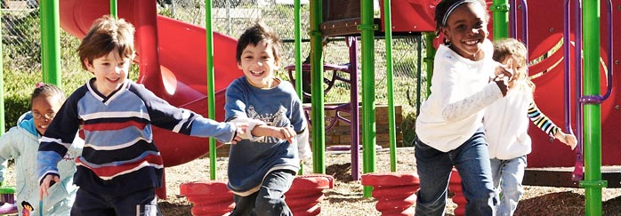 ABCD's recent community-based research includes an evaluation of the nonprofit KaBoom!, which helps communities build playgrounds