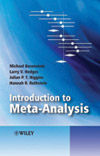 Introduction to Meta-Analysis Cover