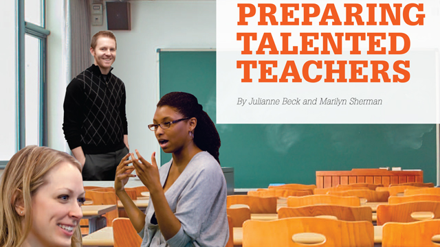Serving Schools through PREPARING TALENTED TEACHERS
