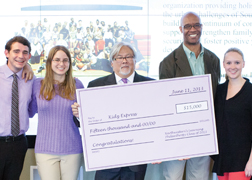 Philanthropy Class Gives $100,000 to Worthy Nonprofits