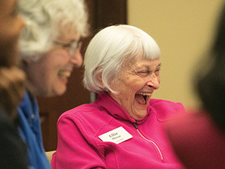 Students, Seniors Mix in Adulthood and Aging Class