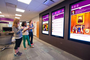 Student Affairs Office Video Wall