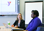 MSLOC Students Help YMCA Unite Employees behind Its Cause