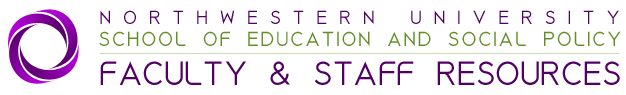 Northwestern University School of Education and Social Policy Faculty and Staff Resources