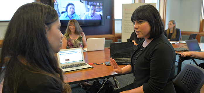 Master's Students Partner with Companies, Nonprofits