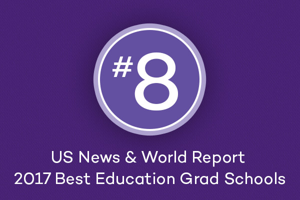 US News and World Report 2017 ranking #8