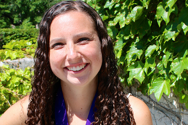 Graduating Senior Carly Pablos Wins Ryan Prize for Community Service