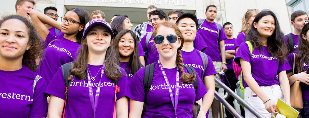 Northwestern University wildcat welcome students 2016