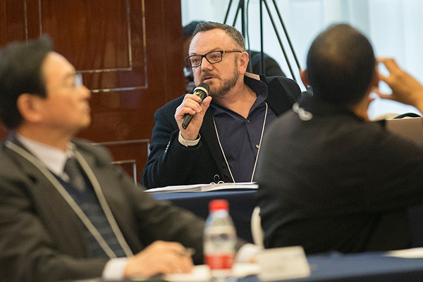 Spillane Addresses Principals in Hong Kong and Hangzhou