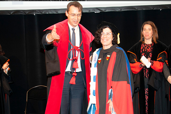 Coburn Receives Honorary Doctorate